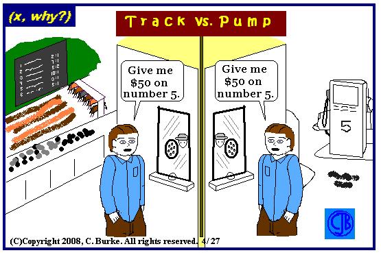 track vs pump
