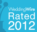 WeddingWire Rated 2012