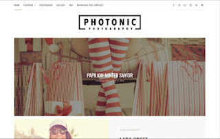 Photonic Photography Blogger Theme
