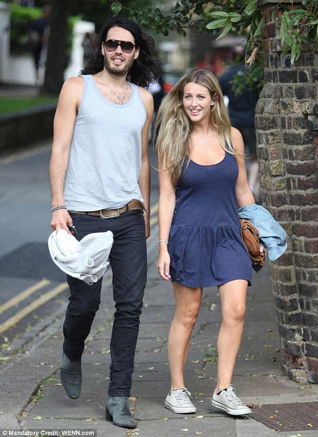 Image result for russell brand fiancee