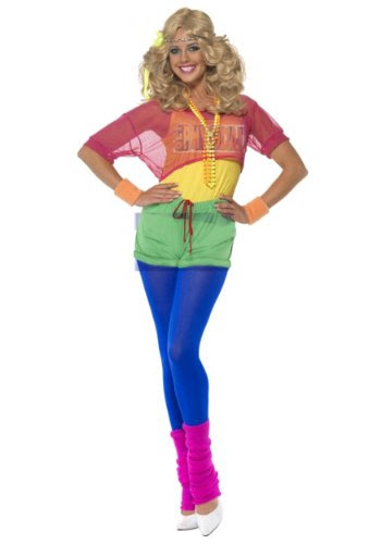 80s Workout Girl Costume
