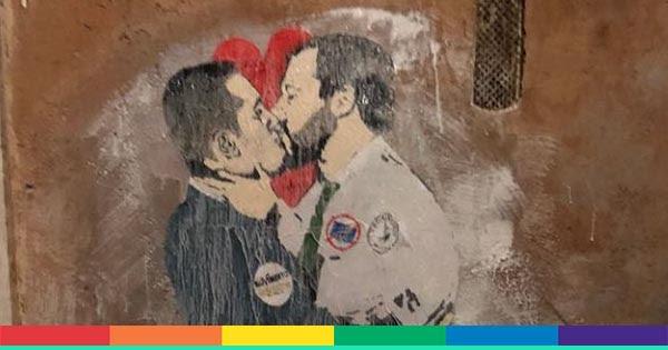 Murales Berlino Bacio