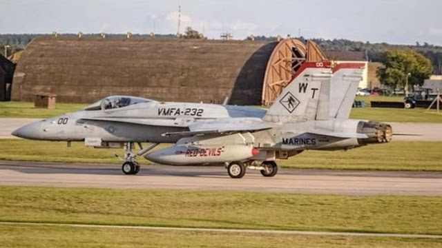 US pilot killed in F-18 jet crash named