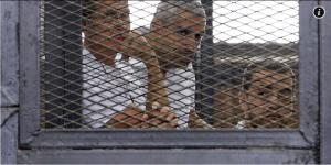 עיתונאי אלג'זירה במצרים