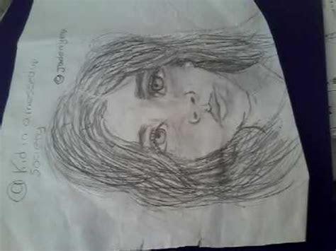 year  artist draws realistic girl   im