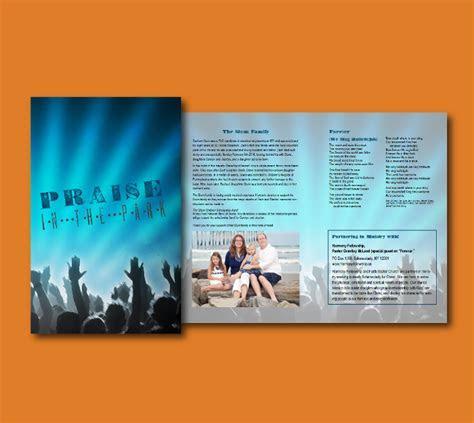 Program for Church Event   Beelissa Designs