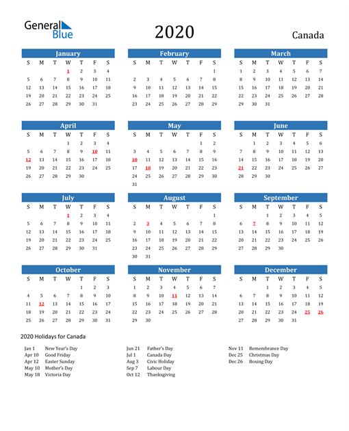 Large Print Calendar 2021 Canada   2022 Calendar
