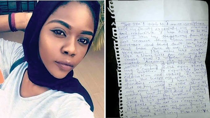 300-level ABU student commits suicide, blames parents in note