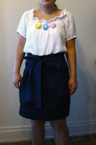 Simplicity 3835 & Paper Bag Skirt