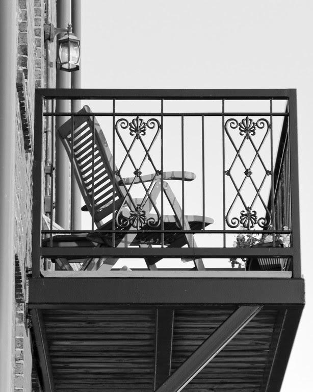 Wilmington Downtown Balcony