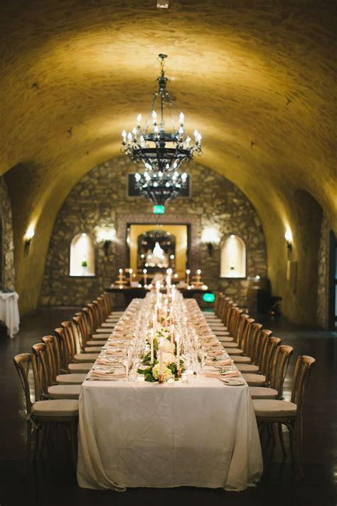 Meritage Resort   Estate Wine Cave   Napa Wedding
