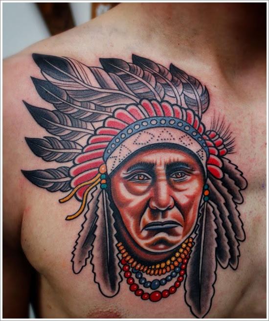 Native American Tattoos Designs Men Tattoos Designs Ideas