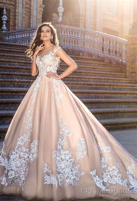 254 best Pink & Blush Gowns images on Pinterest   Wedding