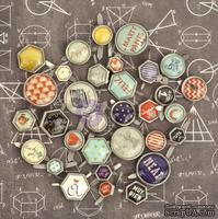 Брадсы Prima - School MemoriesBrads, 32 шт. - ScrapUA.com
