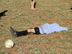 Árbitro é morto a tiros durante partida de futebol