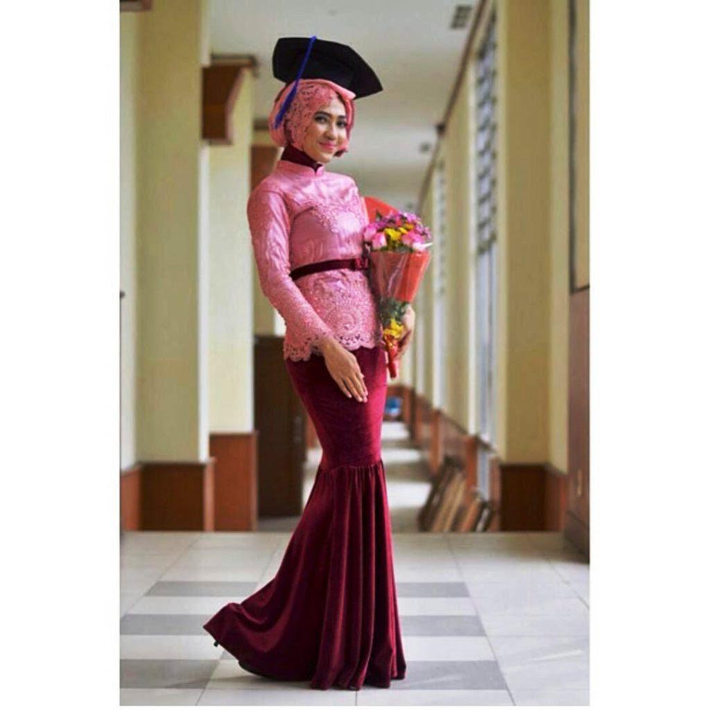 6600 Gambar Desain Baju Wisuda Muslimah Paling Keren Untuk Di Contoh