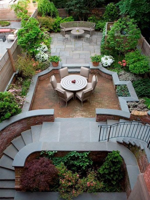 Townhouse backyard oasis decorating ideas