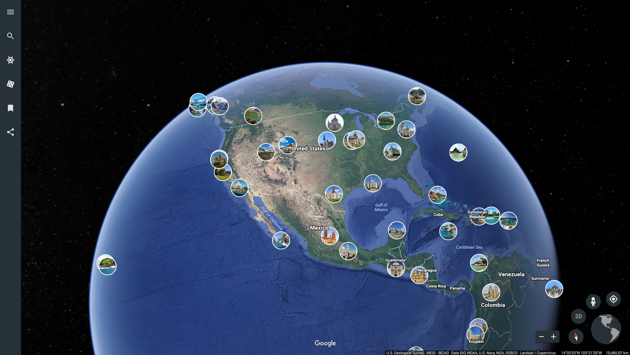View The World Through Someone Elses Lens In Google Earth
