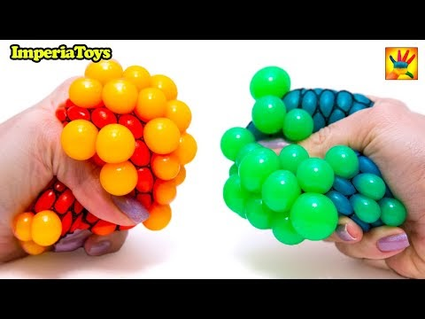 Learn Colors with Squishy Balls and ImperiaToys