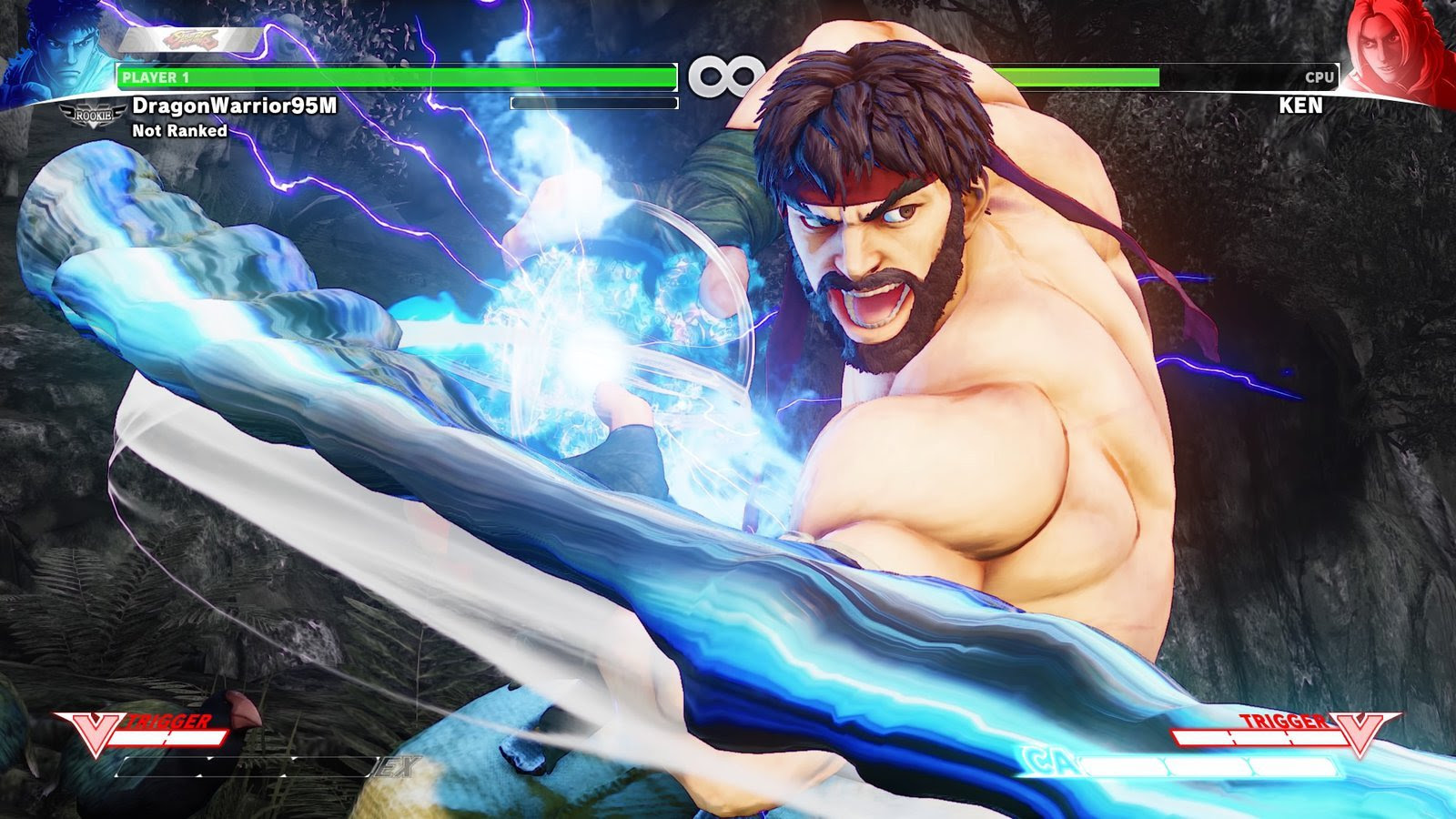 Street Fighter V: Arcade Edition pops up in store listing screenshot
