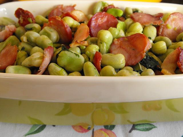 Saladinha de favas