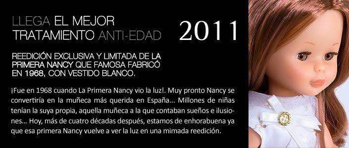 Foto campaña Nancy colección mi primera Nancy reedición 2011