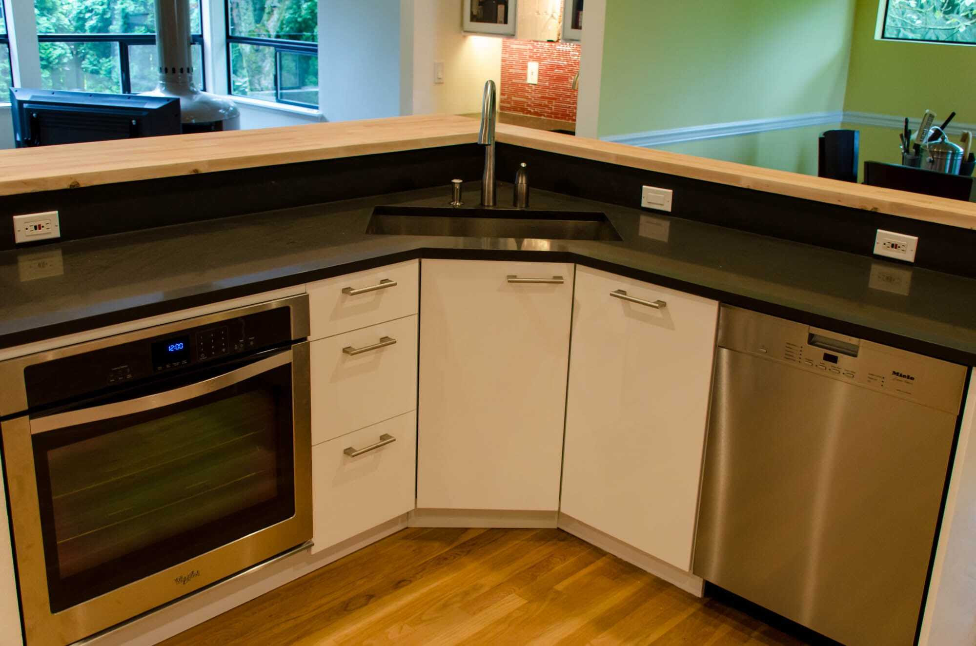 Corner Sinks for Kitchen