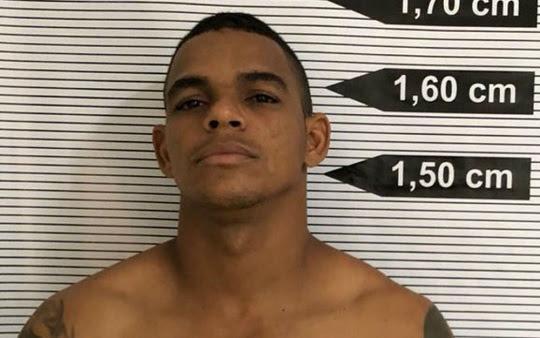 Rodrigo é suspeito de matar a ex-namorada a facadas na Bahia | Foto: Divulgação/Polícia Forense do Ceará