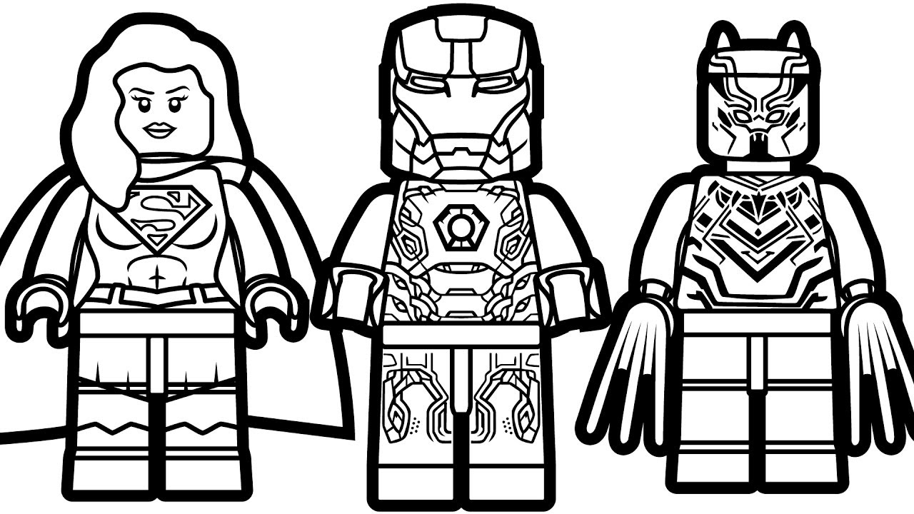 Lego Coloring Pages | Free download on ClipArtMag