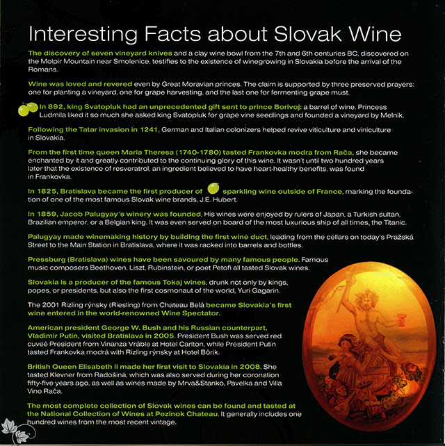 3. Interesting Facts about Slovak Wine