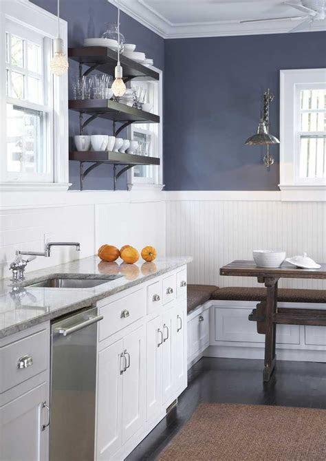 navy blues beadboard kitchen navy kitchen