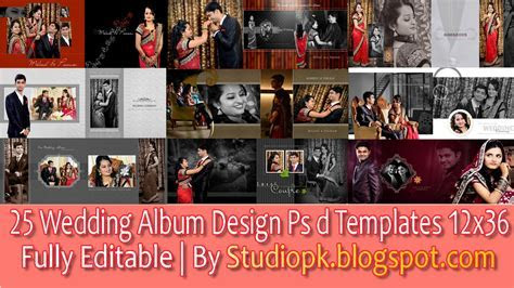Wedding Album Design Psd Files 12x36 Free Download