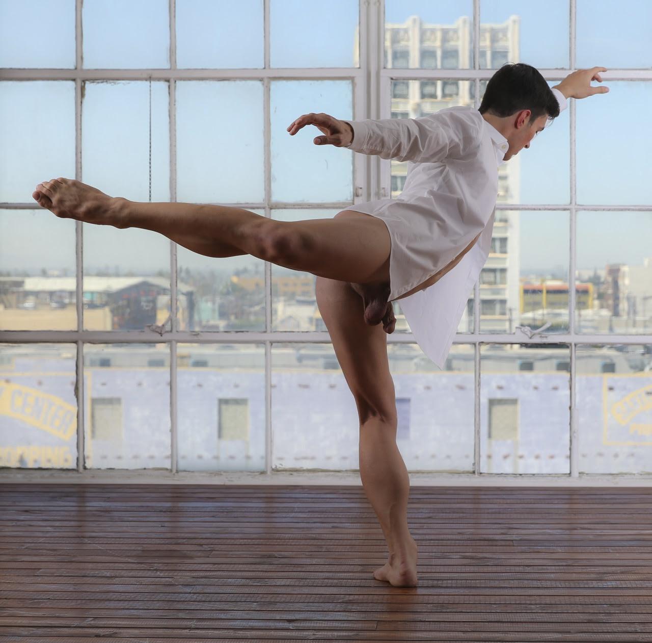 Greg, arabesque attitude by g.d.leigh