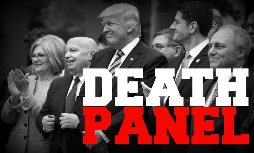 Image result for trump's death panels