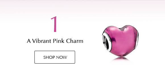 Shop Vibrant Pink Charms