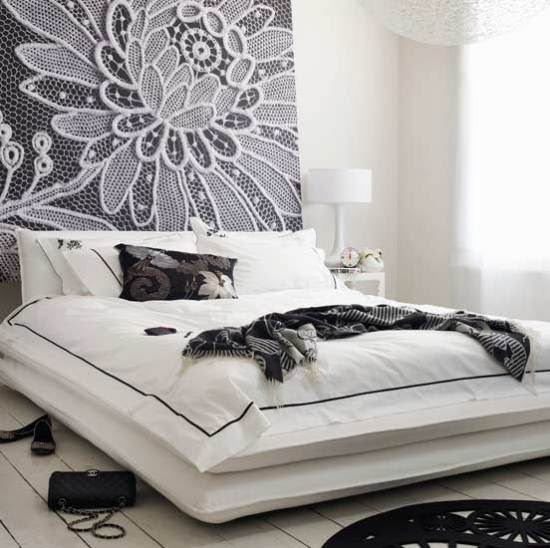 10-black-and-white-bedroom-ideas-twin-bedroom-white-bedroom | Home ...