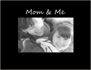 Mom Me Photo Frame Athena Posters