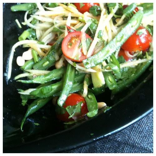 Papaya inspired salad by Ayala Moriel