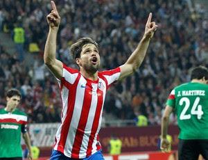 Diego, Atlético de Madrid x Athletic Bilbao (Foto: Reuters)