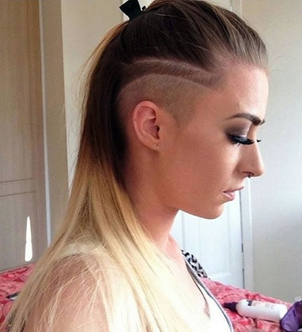 40 New Undercut Hairstyles For Women Long Medium Or Short Hair