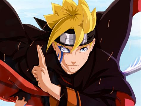 desktop wallpaper boruto uzumaki ready  fight hd
