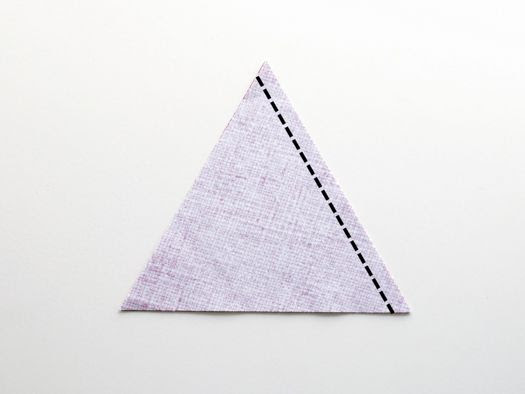 retro mama: triangle hexagon pillow tutorial