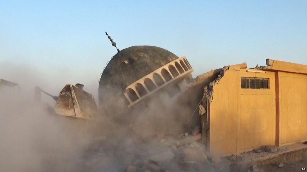Ahmed al-Rifai shrine and tomb in the Mahlabiya district near Tal Afar