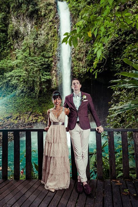 Beautiful Waterfall Ceremony