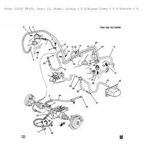 2002 Chevy S10 Vacuum Line Diagram - Hanenhuusholli