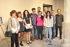 Trabajos finalistas y ganadores expuestos en el Patio de Estudios del Museo de Escultura de Valladolid