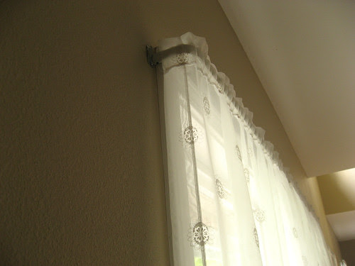 curtains before