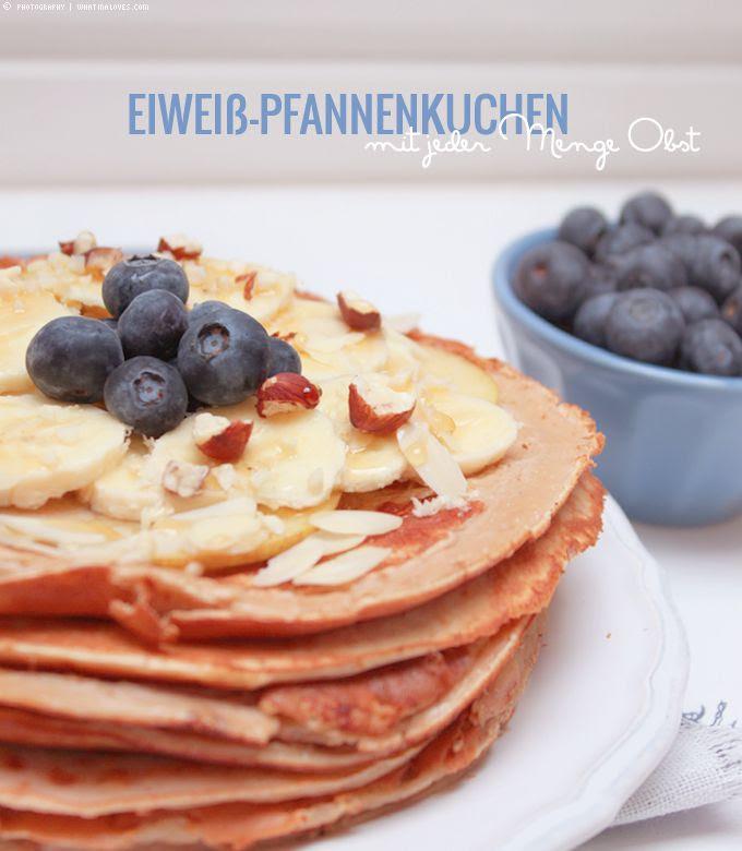 Pancakes Protein Pfannenkuchen