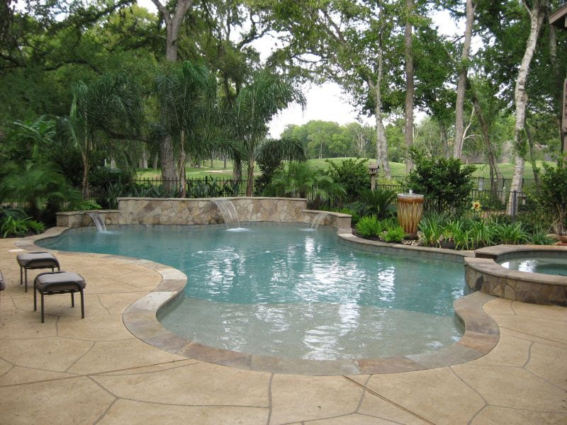 Katy Pool Decking Houston Outdoor Living Fulshear