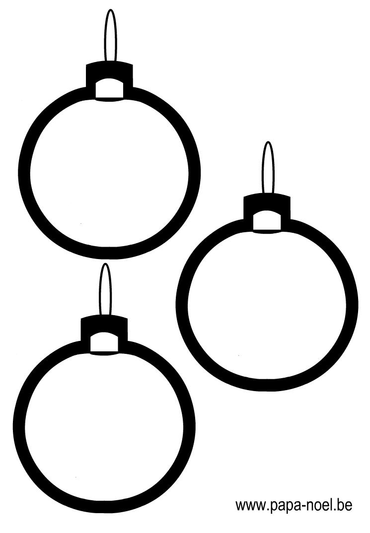 Decoration de vitre des boules de noel